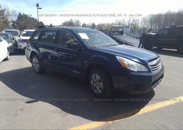 Inventory #990318558 2010 Subaru OUTBACK
