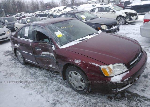 Inventory #814322327 2002 Subaru LEGACY