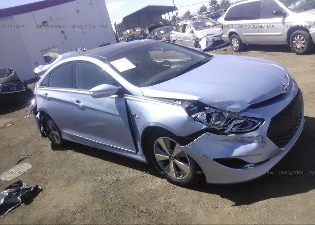 Inventory #800509900 2012 Hyundai SONATA