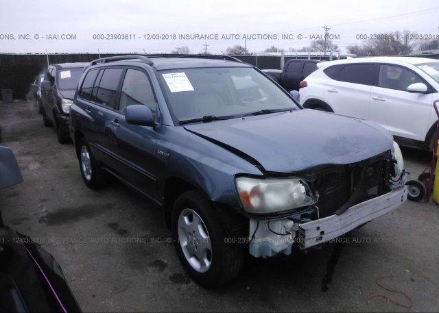 Inventory #305587838 2004 Toyota HIGHLANDER