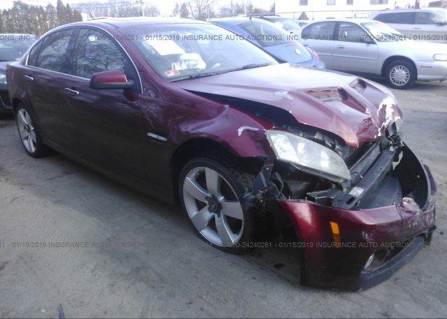Inventory #539689179 2009 Pontiac G8