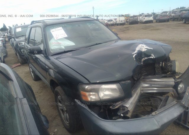 Inventory #738416624 2005 Subaru FORESTER