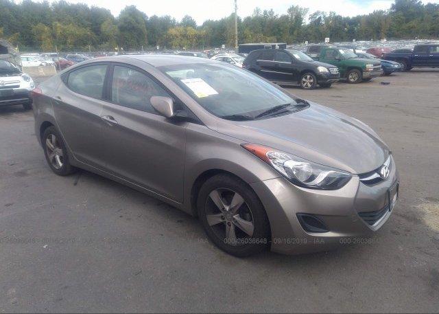 Inventory #272212307 2013 Hyundai ELANTRA