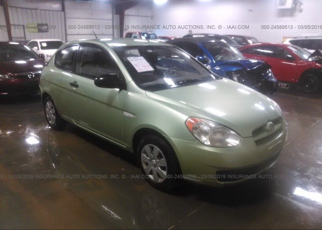 Inventory #654383755 2007 Hyundai ACCENT