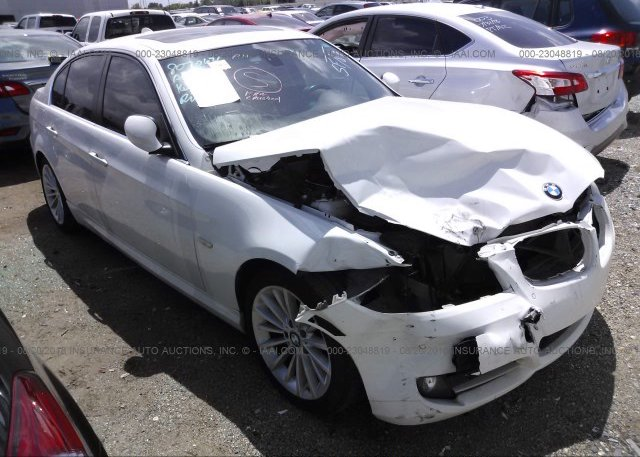 WBAPM7C52AA367378 Salvage White Bmw 335 At HOUSTON TX On Online