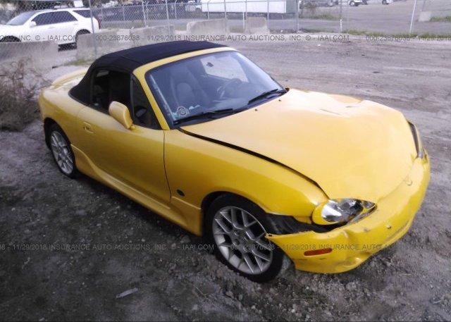 Inventory #670660030 2002 Mazda MX-5 MIATA