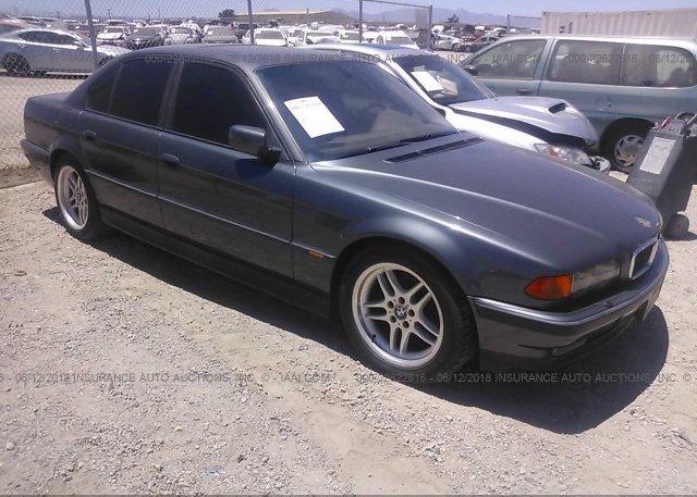 Inventory #753406432 2000 BMW 740