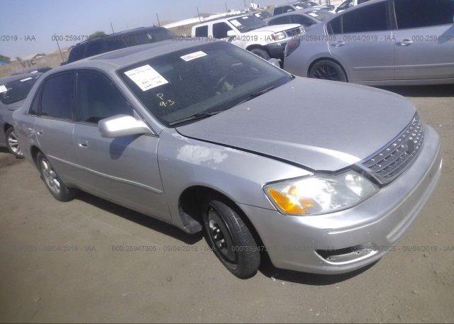 Inventory #245743648 2004 Toyota AVALON