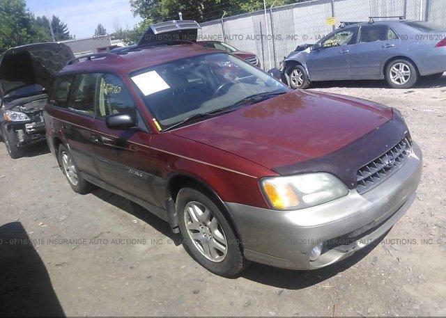 Inventory #224401570 2004 Subaru LEGACY