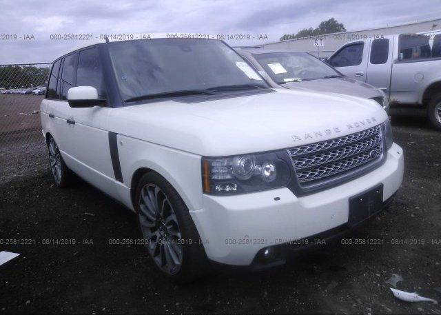 Inventory #863805381 2010 Land Rover RANGE ROVER