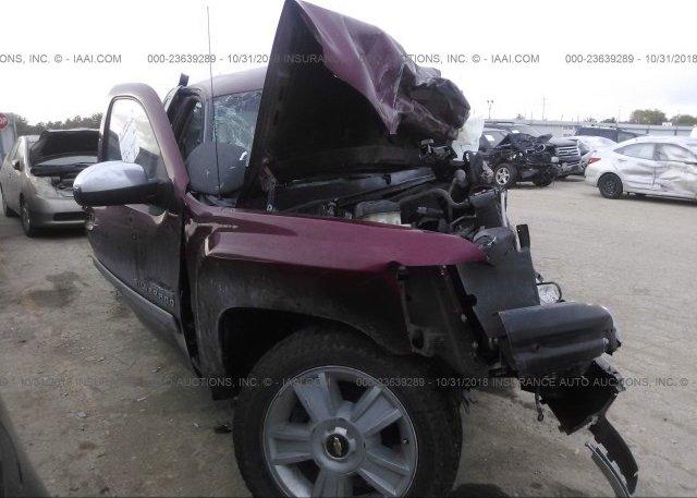 Inventory #953054643 2013 Chevrolet SILVERADO