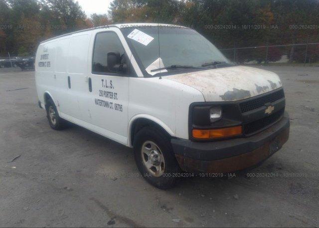 Inventory #151756506 2008 Chevrolet EXPRESS G1500