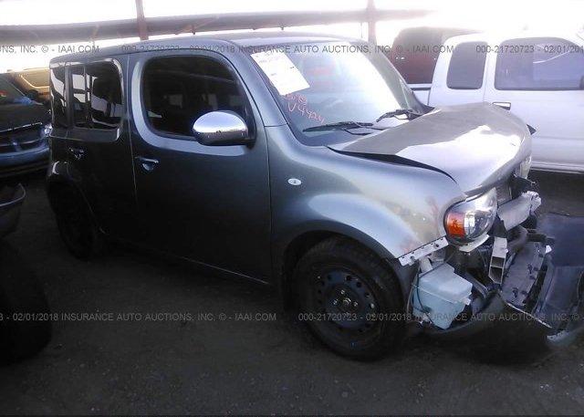 Jn8az2kr8bt204424 Salvage Gray Nissan Cube At Phoenix Az On Online