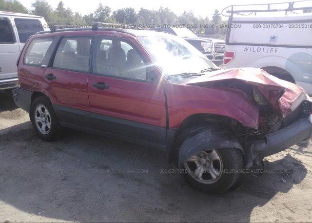 Inventory #817048416 2004 Subaru FORESTER