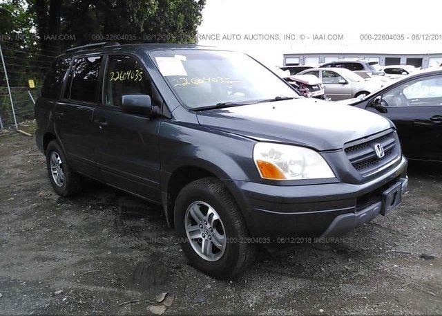 Inventory #456031872 2005 Honda PILOT
