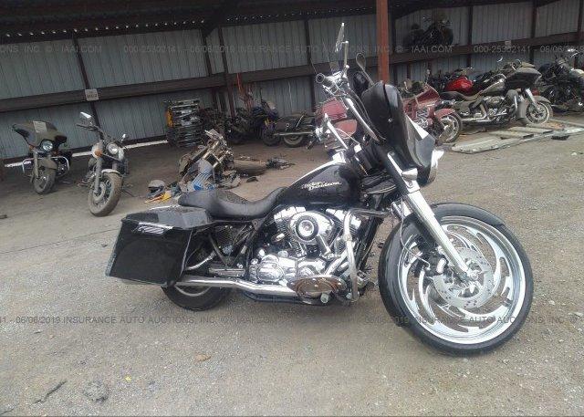 Nashville Harley Davidson >> 1hd1kb4107y673314 Salvage Black Harley Davidson Flhx At
