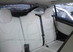 2018 Tesla MODEL X - 5YJXCAE28JF090040 front view