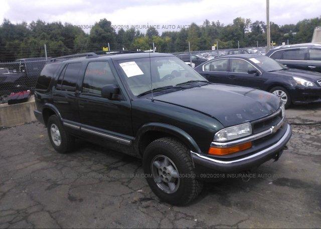 Inventory #902582406 2001 Chevrolet BLAZER