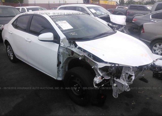 Inventory #361177540 2018 Toyota COROLLA