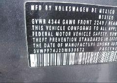 2013 Volkswagen JETTA - 3VWPP7AJ2DM639572 engine view