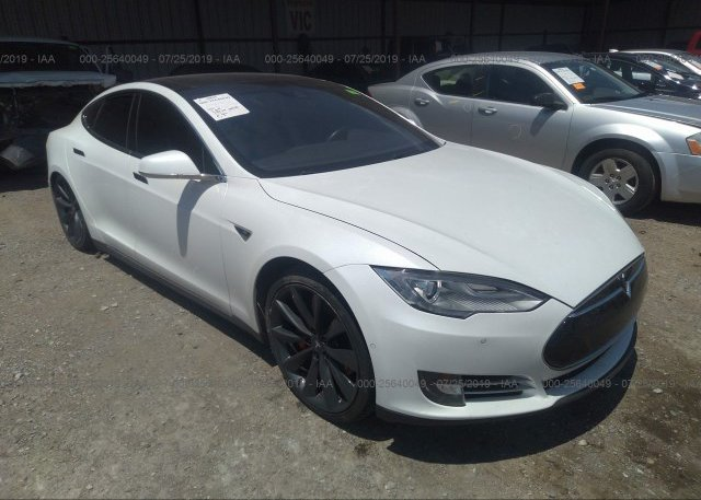 Inventory #561906144 2015 Tesla MODEL S