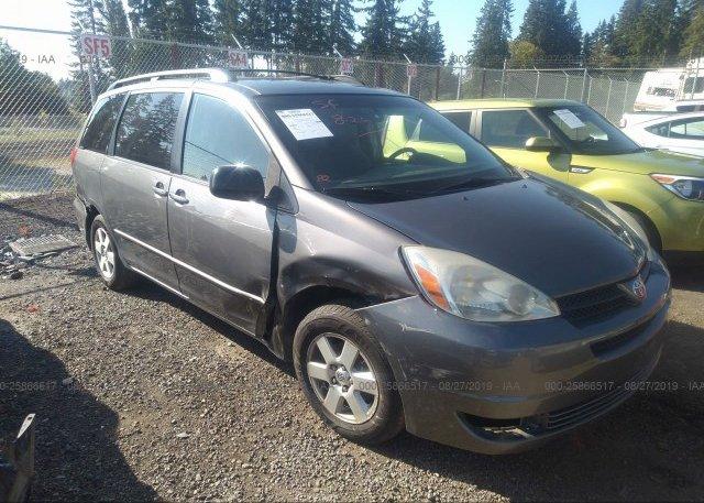 Inventory #843830032 2005 Toyota SIENNA
