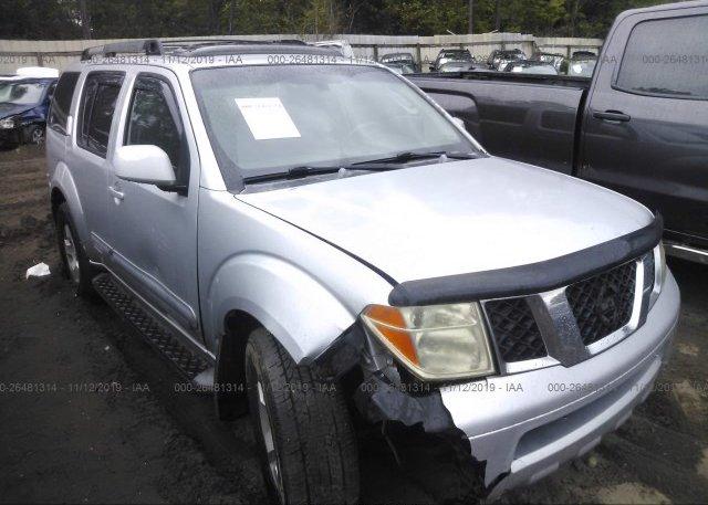 2006 Nissan Pathfinder For Sale >> 5n1ar18u06c618395 Salvage Nissan Pathfinder At Jacksonville