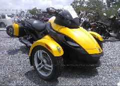 2010 CAN-AM SPYDER ROADSTER