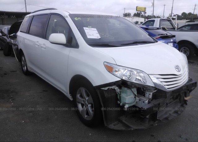 Inventory #109634564 2016 Toyota SIENNA