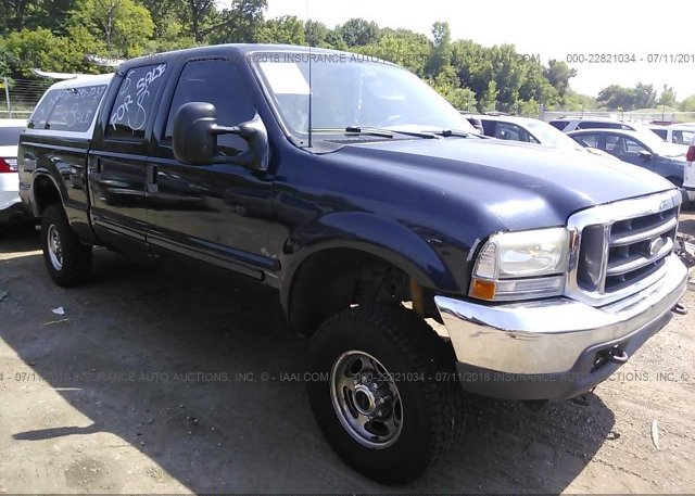 Inventory #123203287 2002 FORD F250