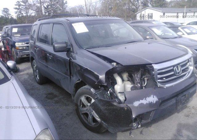 Inventory #821383188 2012 Honda PILOT