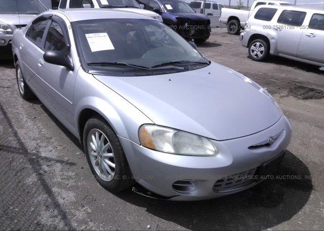 Inventory #889836168 2003 Chrysler SEBRING