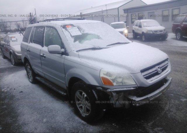 Inventory #669249237 2003 Honda PILOT