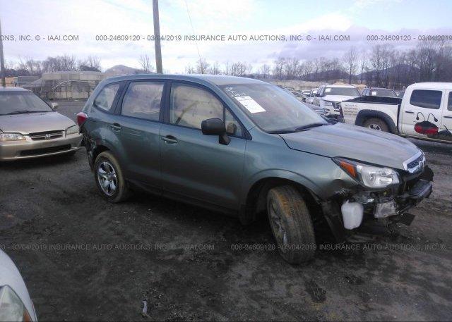Inventory #890559254 2017 Subaru FORESTER
