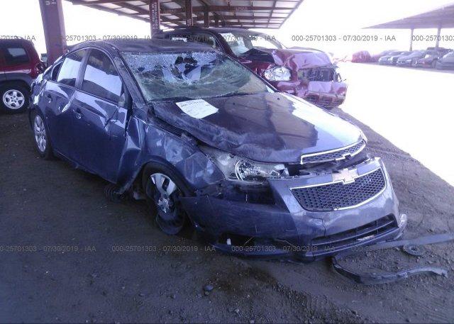 Inventory #627188931 2013 Chevrolet CRUZE
