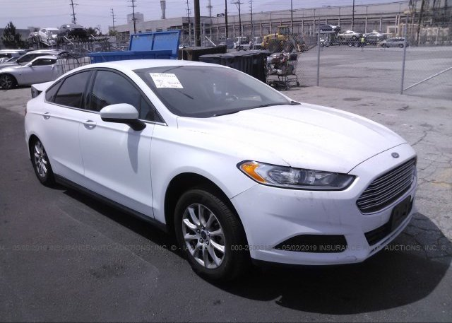 Inventory #333893491 2016 FORD FUSION