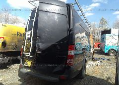 2014 Mercedes-benz SPRINTER - WD3PF1CC7E5872043 rear view