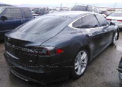 2014 Tesla MODEL S - 5YJSA1H13EFP51899 rear view