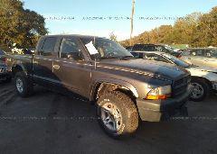 2004 Dodge DAKOTA - 1D7HG38K24S599554 Left View