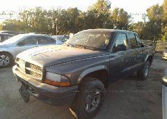 2004 Dodge DAKOTA - 1D7HG38K24S599554 Right View