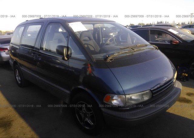 Inventory #836887733 1991 Toyota PREVIA
