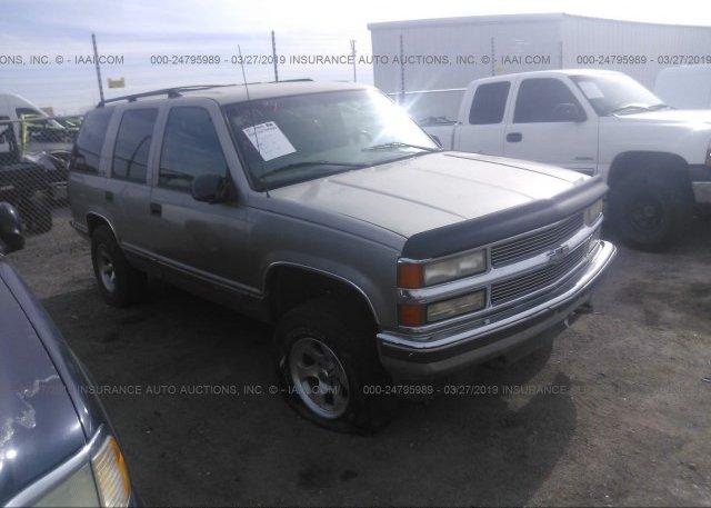 Inventory #618089035 1999 Chevrolet TAHOE