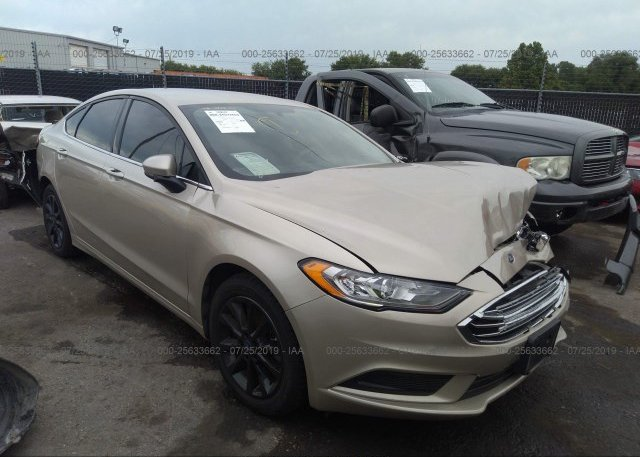 Inventory #444566437 2017 FORD FUSION