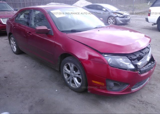 Inventory #183506307 2012 FORD FUSION