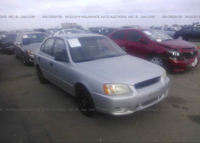 Inventory #503683479 2002 Hyundai ACCENT