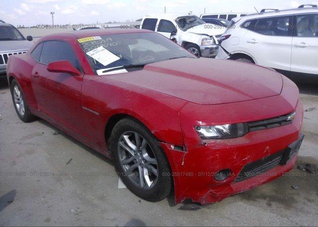Inventory #364709987 2014 Chevrolet CAMARO