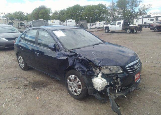 Inventory #497608271 2010 Hyundai ELANTRA