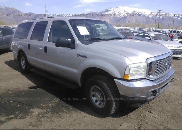 1fmnu40l04eb01619 Salvage Silver Ford Excursion At Ogden Ut On