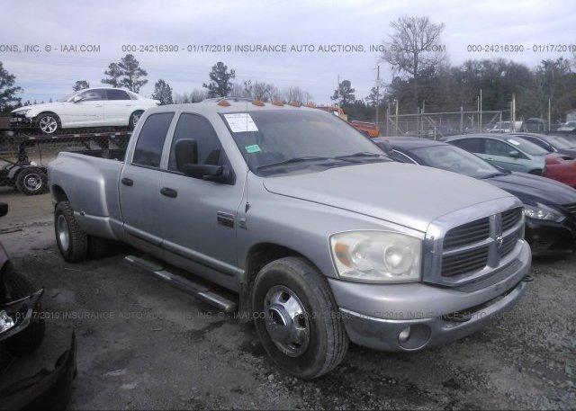 Inventory #944946507 2007 DODGE RAM 3500