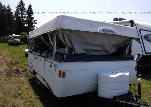 4CE689F1857268035, Clear white Fleetwood Camper at PORTLAND